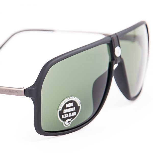 Carrera 1019 Polarised Matte Black Green (1019 003)