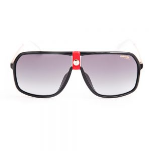 Carrera 1019 Gloss Black Gold Red Grey Gradient (1019 Y11)