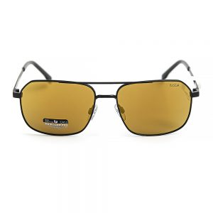 Bolle Navis Polarised Matte Black Brown Gold Mirror (12577)