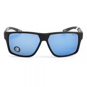 Bolle Brecken Polarised Floatable Matte Black Grey Offshore Blue Mirror (12626)