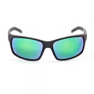 Arnette Fastball Polarised Matte Black Green Mirror (4202 01/11)