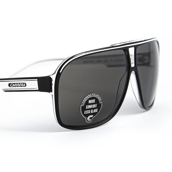 Carrera Grand Prix 2 Polarised Black Crystal White Grey (7C5)