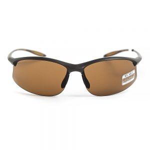 Serengeti Maestrale Polarised Sanded Dark Brown Drivers (8450)