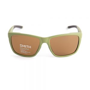 Smith Longfin Polarised Matte Green Brown (Longfin-SIF)